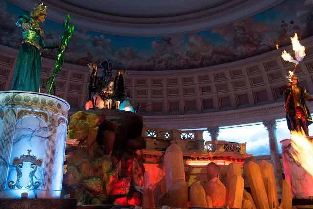 Fall of Atlantis and Festival Fountain