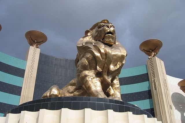 Lion MGM Grand Hotel Las Vegas