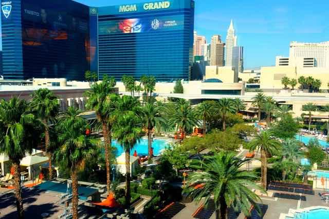 Piscine MGM Grand Hotel Las Vegas