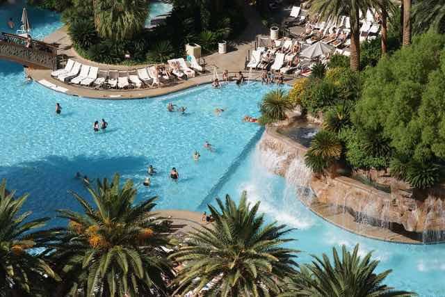 Piscine The Mirage Hotel Las Vegas