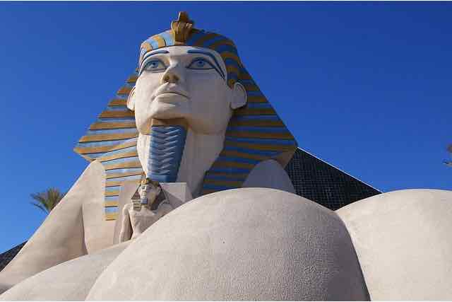 Sphynx Luxor Hotel Las Vegas