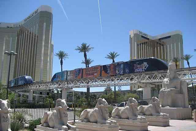 Tram Mandalay Bay Hotel Las Vegas