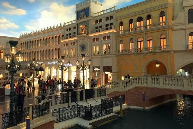 Grand Canal Shoppes Venetian