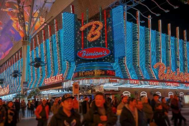 Binions Casino Fremont Street Las Vegas