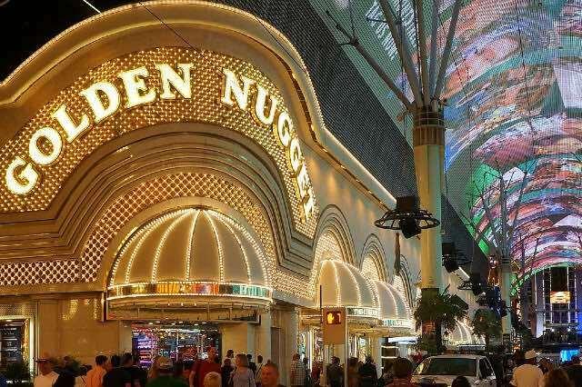 Golden Nugget Casino Fremont Street Las Vegas