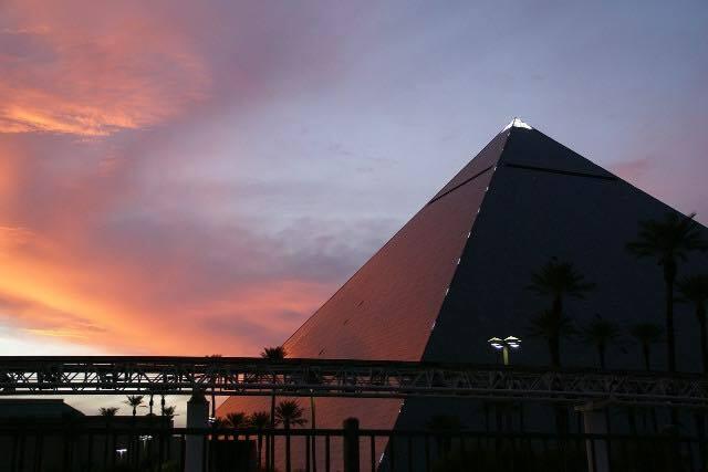 Pyramide Luxor Strip Las Vegas