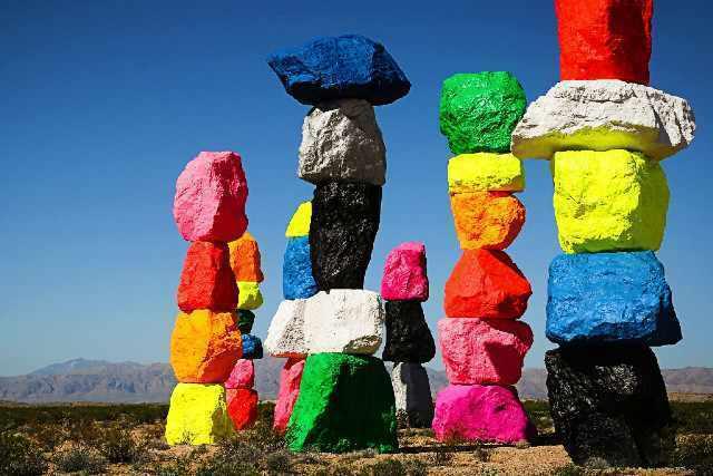 activite seven magic mountains las vegas