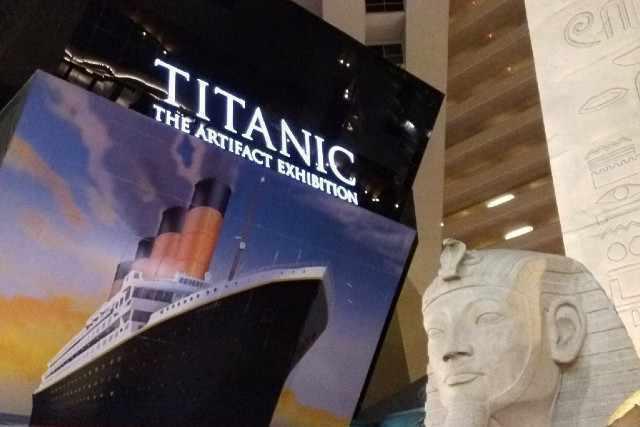 activite titanic the artifact exhibition las vegas